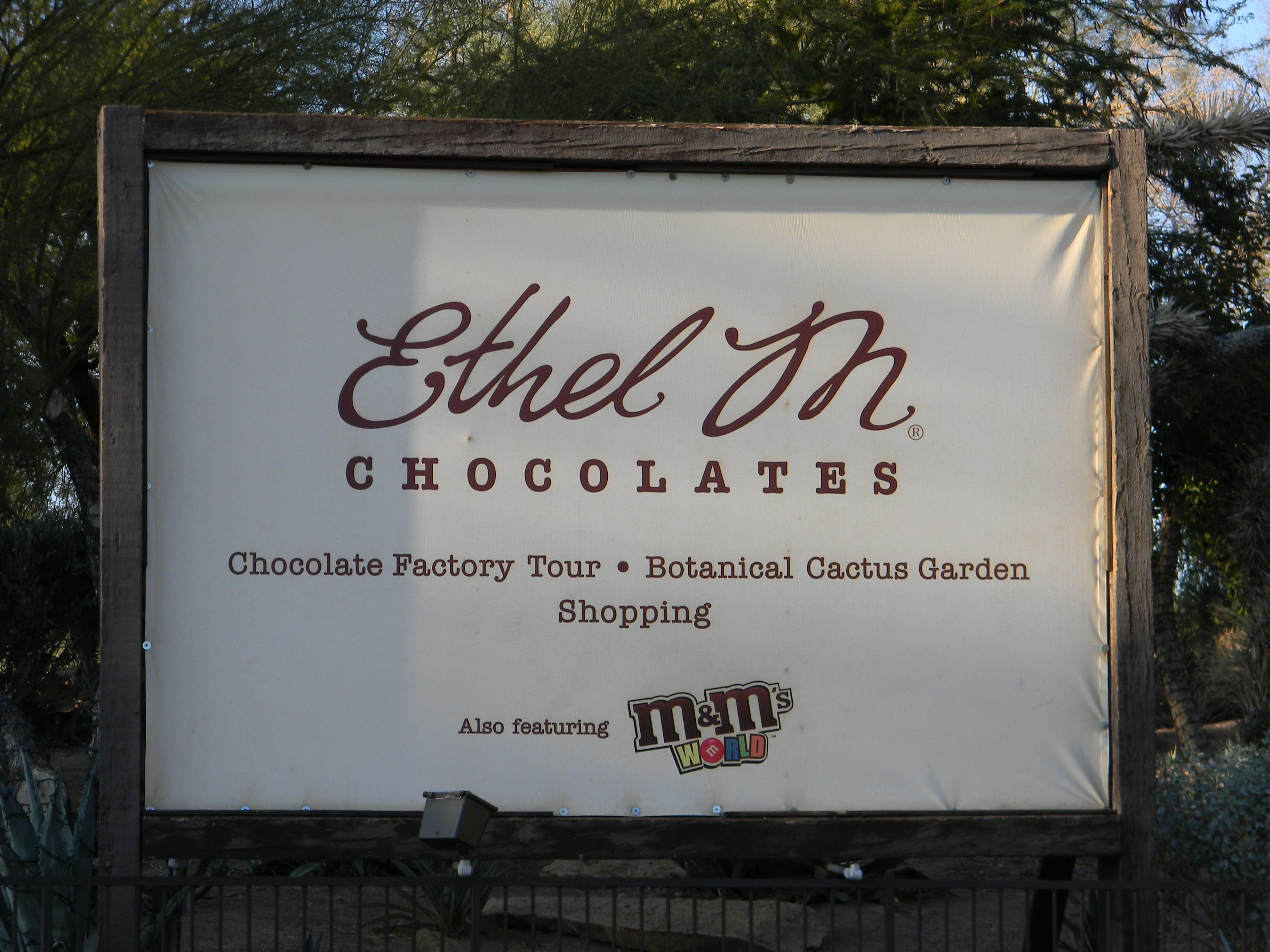 Ethel M Chocolate Factory and Cactus Garden – Las Vegas, Nev ...